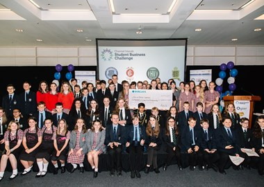 Students make profits of £67,000 and donate £24,500 to charity