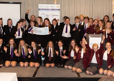 Students make profits of £130,000 and donate £40,000 to charity